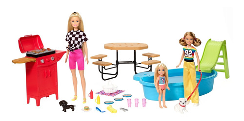 Barbie Estate Picnic Entre Hermanas