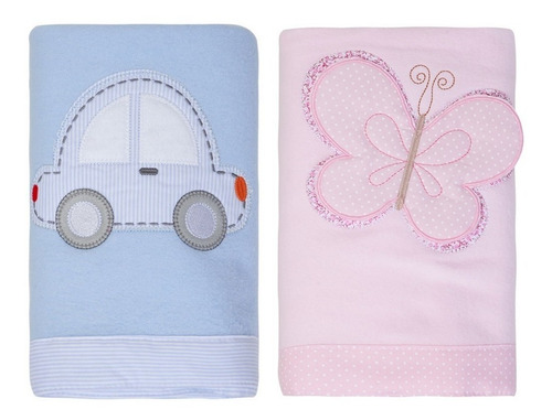 Imagem 1 de 5 de Coberta Para Bebê Manta Menino Menina Soft Envio Imediato