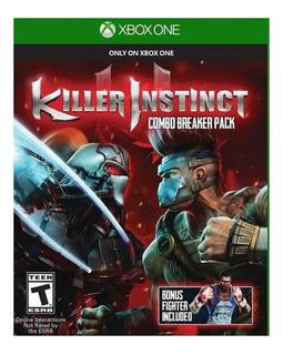 Juego Killer Instinct Xbox One Fisico Sellado