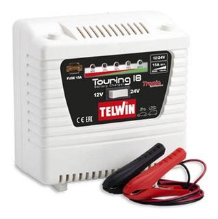 Cargador De Baterias 12/24v 220v Telwin Touring 18