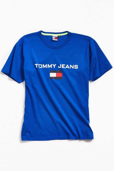 Hat Plaza Remera Tommy Jeans 90s Capsule Collection Nueva L