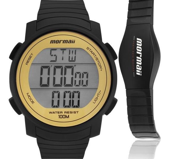 Relógio Mormaii Masculino Com Monitor Cardíaco Mo11560aa/8d