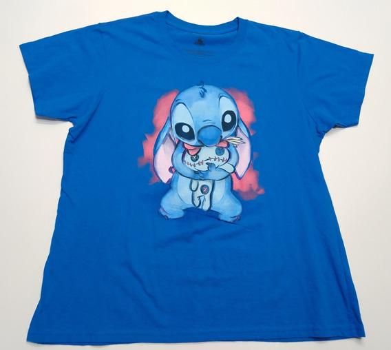 Remera Lilo Y Stitch Disney Store Talle Xxl Azul