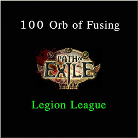 Pacote 100 Orb Of Fusing Legion Softcore - Path Of Exile