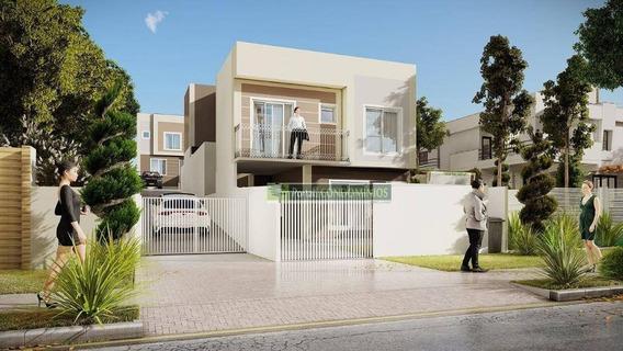 Sobrado Com 3 Dormitórios À Venda, 80 M² Por R$ 310.000 - Bairro Alto - Curitiba/pr - So0135