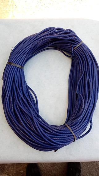 Guaina Espiral Tube Cabo Drop 6,2mm Azul Fibra Optic 100mts