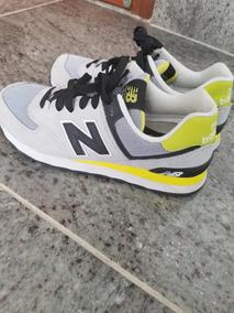 b1aa8e5160a Tenis New Balance 574 Amarelo - Tênis no Mercado Livre Brasil