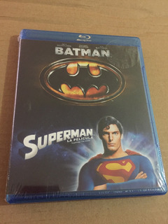 Batman 1989 Y Superman 1978 Combo Bluray Remasterizadas