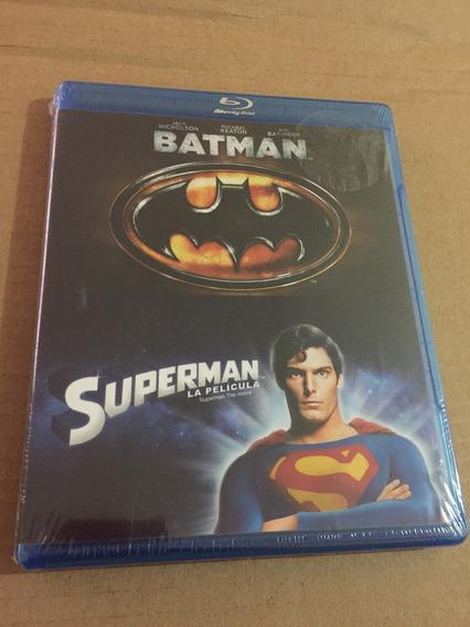 Batman 1989 Y Superman 1978 Combo Bluray Remasterizadas