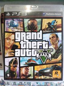 Jogo Ps3 Gta 5® Mídia Física Playstation 3 Gta V