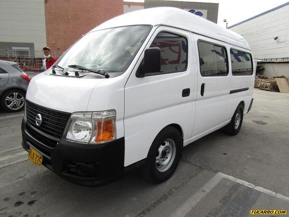 Nissan Urvan 16 Pasajeros
