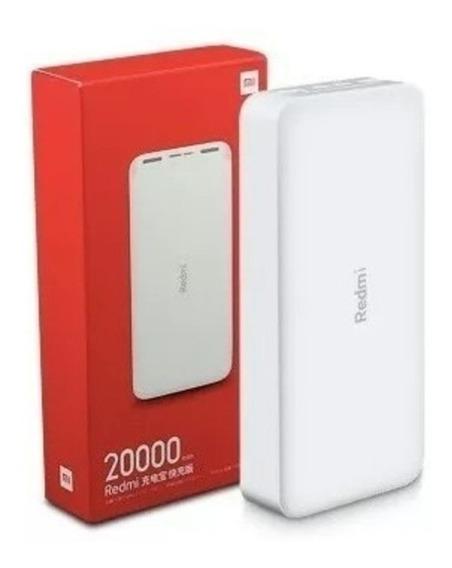 Carregador Portátil Xiaomi 20000mah Quick Charge 3.0 Turbo