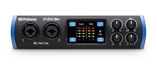 Presonus Studio26 C Placa Interfaz Audio Usb Midi