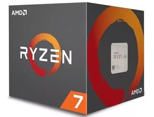 Processador Amd Ryzen 7 2700 3.2ghz 20mb Am4 Wraith Spire