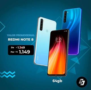 Xiaomi Note 8 Semi Novo