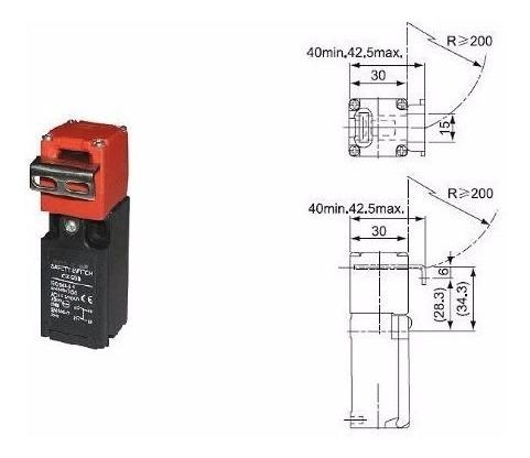 Sensor Trava Segurança Nr12 Processador Becker Paral