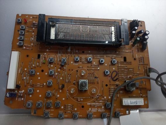 Placa Frontal System Lg Lmu550a Tirada De Som Parado