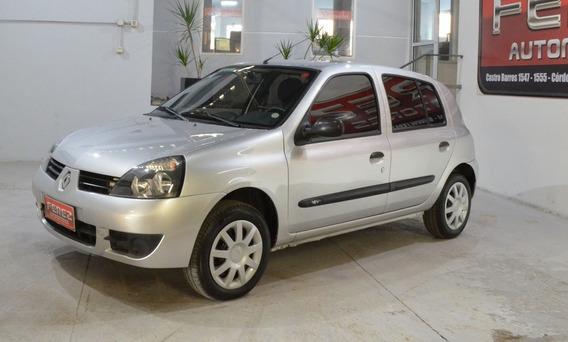 Renault Clio Compus 1.2 Pack Ii Gris Nafta 2012 !!
