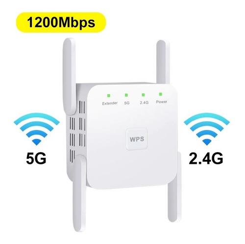 Repetidor Wifi 5g 1200 Mbps / Doble Banda