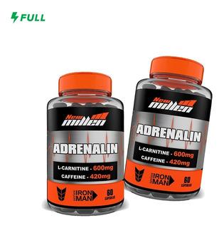 2x Adrenalin 60 Cápsulas - New Millen