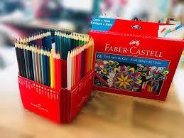 Faber Castell Lápis De Cor Caixa C/ 60 Cores *original*