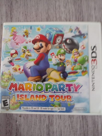 Mario Party Island Tour 3ds 2ds - Mídia Física