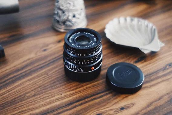 Lente Leica M Summarit 35mm F/2.5 6-bit E39 Mint M3 M6 M7 M4