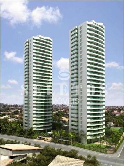 S0218 - Apartamento 160m², 4 Quartos À Venda Em Lagoa Nova