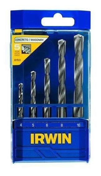 Juego De 5 Brocas Irwin 891503 Irwin 891503