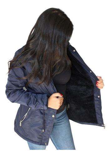 Jaqueta Feminina Parka Forrada Original - Qualidade Superior