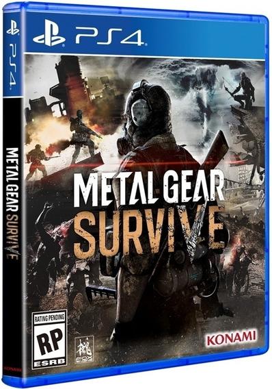 Ps4 Original Konami Metal Gear Survive Blu-ray Midia Fisica