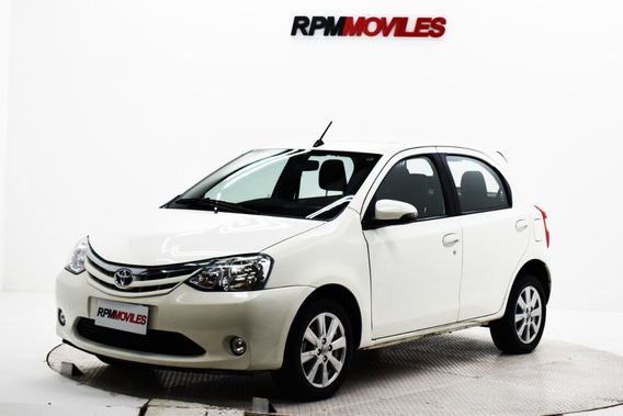 Toyota Etios 1.5 Xls 5p At 2016 Rpm Moviles