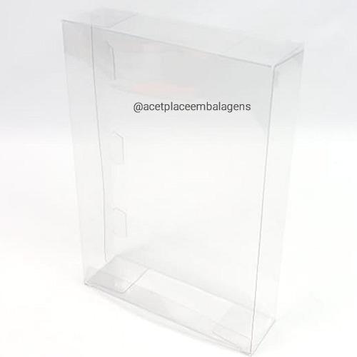Pxgames-4 Caixa Protetora Case Nintendo64/supernintendo 10un