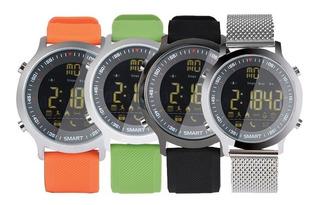Smartwatch Reloj Inteligente Ex18 Android Ios Sumergible