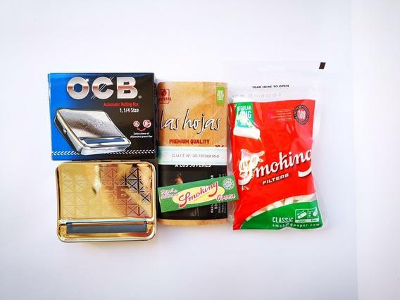 Tabaco Puro Maquina Para Armar Cigarrillos Filtros Y Papel