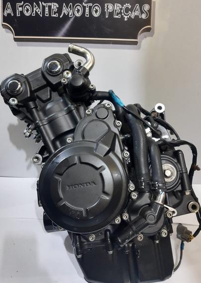 Motor Completo Original Honda Cb 500x 2018 Com Nota Fiscal