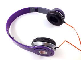 Fone De Ouvido Headphone Ltomex Ajustavel Roxo A10324