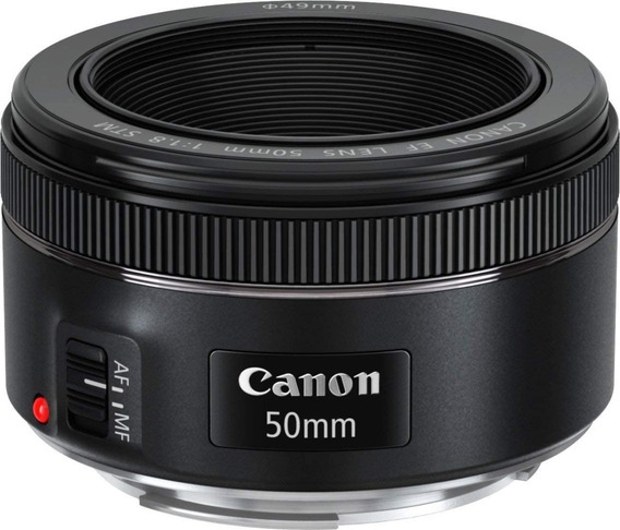 Lente Ef 50mm F/1.8 Stm - Original Canon