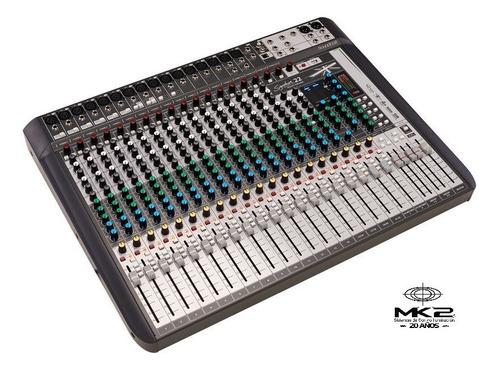 Soundcraft Signature 22 Mtk Consola 22canales Multitrack Usb