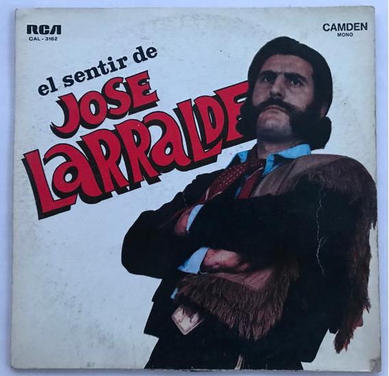Disco El Sentir De Jose Larralde Vinilo