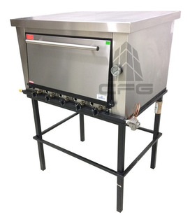 Horno, Panadero, Facturero, 12 Moldes Gas 105 Kgs Rovesco