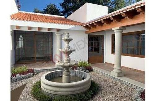 Residencia Para Estrenar En Renta En Lomas De Vista Hermosa