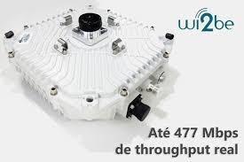 Rádio Digital Wi2be Smart Hp 8ghz 477 Mbps (par) + Nfe