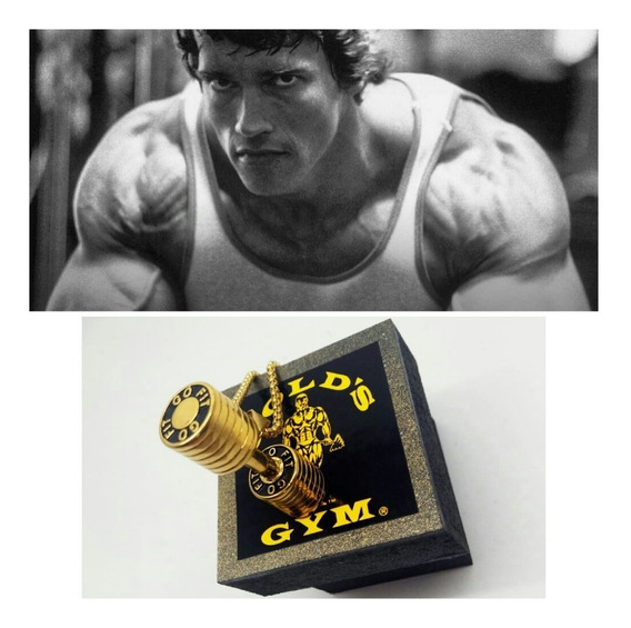 Colar Golds Gym,arnold Classic,musculacao,bodybuilder,lindo.