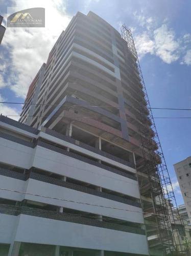Imagem 1 de 30 de Apartamento Com 2 Dormitórios À Venda, 80 M² Por R$ 350.000 - Vila Guilhermina - Praia Grande/sp - Ap2542