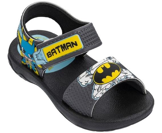 Sandália Papete Chinelo Batman E Super Man 22006 Promoção