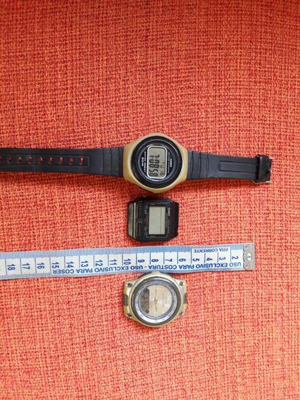 Lote Relógios Cásio Antigos W-57 Aw-82 Db-30 Leia Descrição