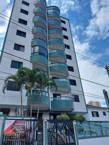 Imagem 1 de 18 de Apartamento Com 1 Dormitório À Venda, 70 M² Por R$ 215.000,00 - Aviação - Praia Grande/sp - Ap2793