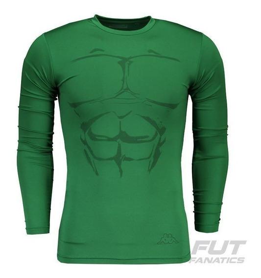 Camisa Térmica Kappa Misk M/l Verde