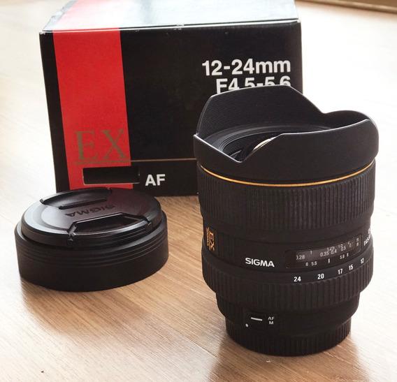 Lente Sigma 12-24mm F/4.5-5.6 Dg For Canon